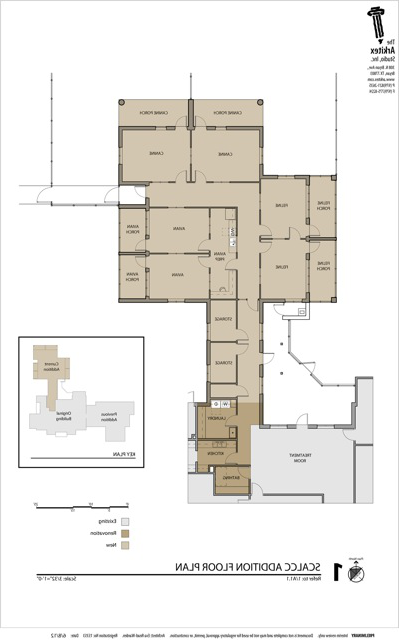 Floor plan new addition 2012